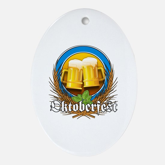 Funny Munich Oval Ornament