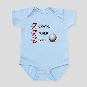 Crawl Walk Golf Body Suit