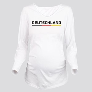 Deutschland Long Sleeve Maternity T-Shirt