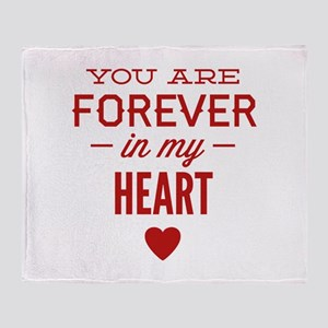 You Are Forever In My Heart Stadium Blanket