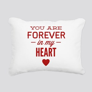 You Are Forever In My Heart Rectangular Canvas Pil