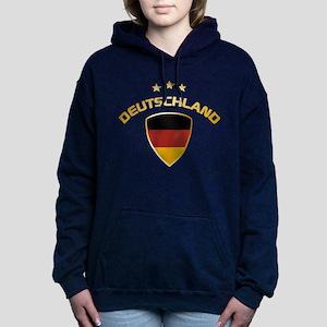 Soccer Crest DEUTSCHLAND gold 1 Hooded Sweatshirt