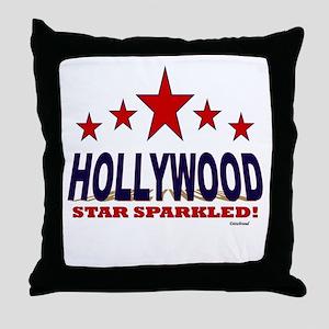 Hollywood Star Sparkled Throw Pillow