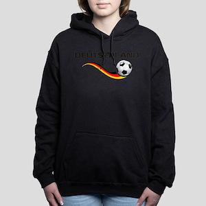 Soccer Deutschland 1 Hooded Sweatshirt