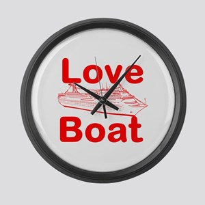 Love Boat Large Wall Clock