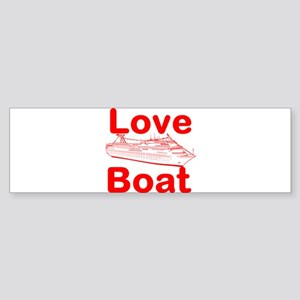 Love Boat Bumper Sticker