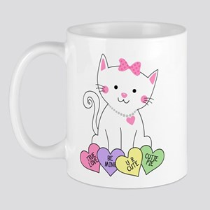 Valentine Kitty Mug
