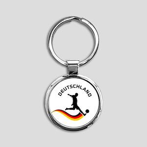 Soccer Deutschland Player Keychains
