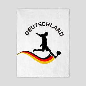 Soccer Deutschland Player Twin Duvet