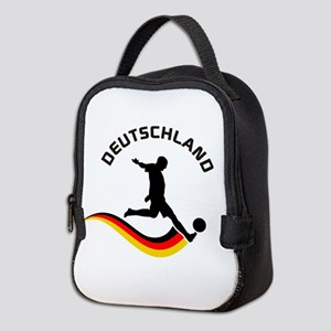 Soccer Deutschland Player Neoprene Lunch Bag