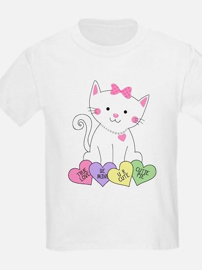 Valentine Kitty T-Shirt