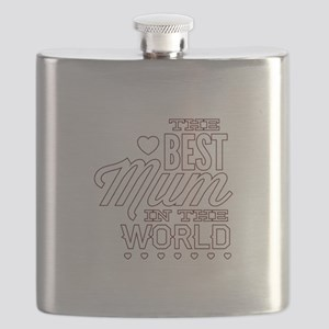 The Best Mum In The World Flask