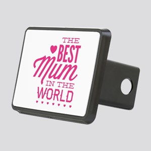 The Best Mum In The World Rectangular Hitch Cover