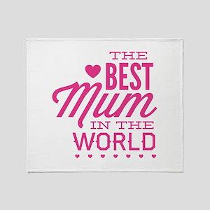 The Best Mum In The World Stadium Blanket