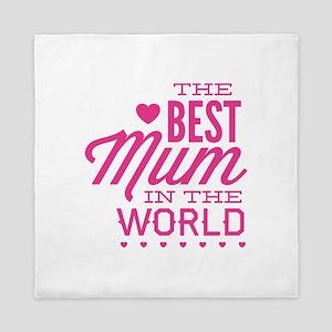 The Best Mum In The World Queen Duvet