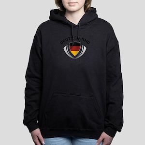 Soccer Crest GERMANY Hooded Sweatshirt