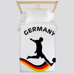 Soccer GERMANY Player Twin Duvet
