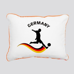 Soccer GERMANY Player Rectangular Canvas Pillow