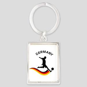 Soccer GERMANY Player Portrait Keychain