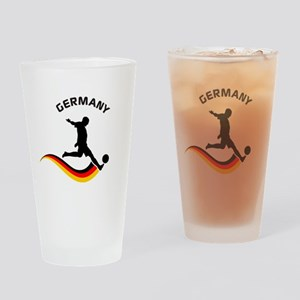 Soccer GERMANY Player Drinking Glass