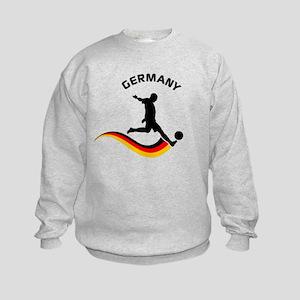 Soccer GERMANY Player Kids Sweatshirt