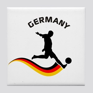 Soccer GERMANY Player Tile Coaster