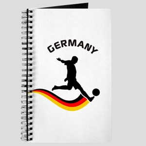 Soccer GERMANY Player Journal