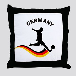 Soccer GERMANY Player Throw Pillow