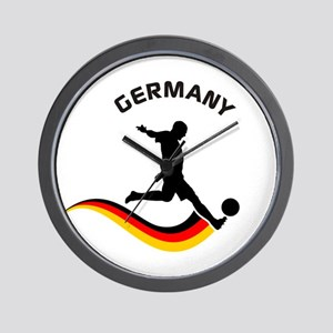 Soccer GERMANY Player Wall Clock