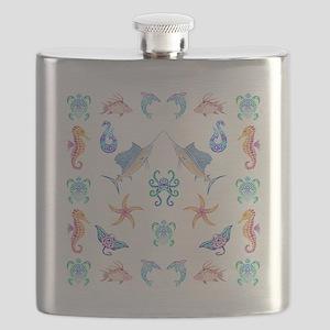 Ocean Fun Flask
