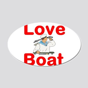 Love Boat Wall Decal
