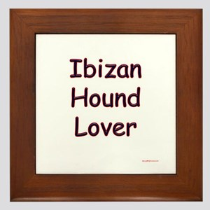 Ibizan Lover Framed Tile
