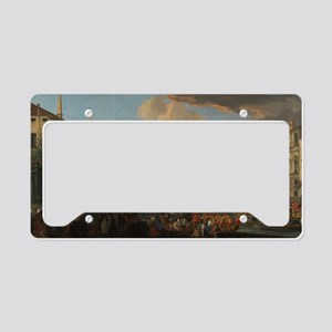 Regatta on the Grand Canal License Plate Holder