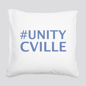 UNITY CHARLOTTESVILLE Square Canvas Pillow