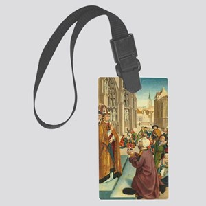 Episodes from the Life of a Bish Large Luggage Tag