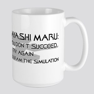 Kobayashi Maru - Try Try Again! Mugs