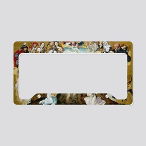 The Baptism of Christ License Plate Holder