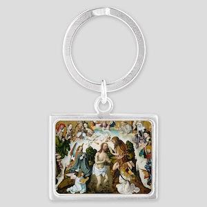 The Baptism of Christ Landscape Keychain