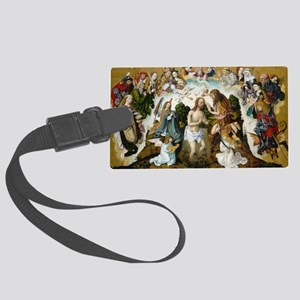 The Baptism of Christ Large Luggage Tag