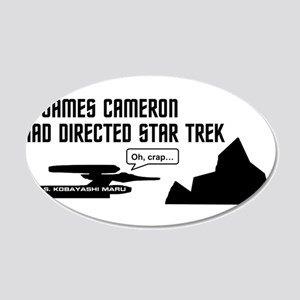 If James Cameron Had Directed Star Trek Wall Decal