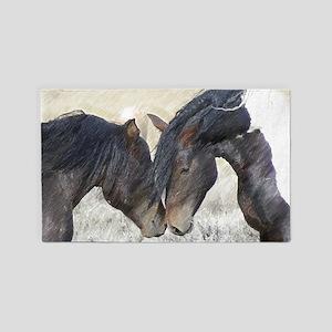 Horse Love 3'x5' Area Rug