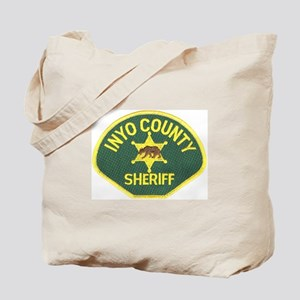 Inyo County Sheriff Tote Bag