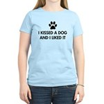 I kissed a dog and I liked it Women's Light T-Shir