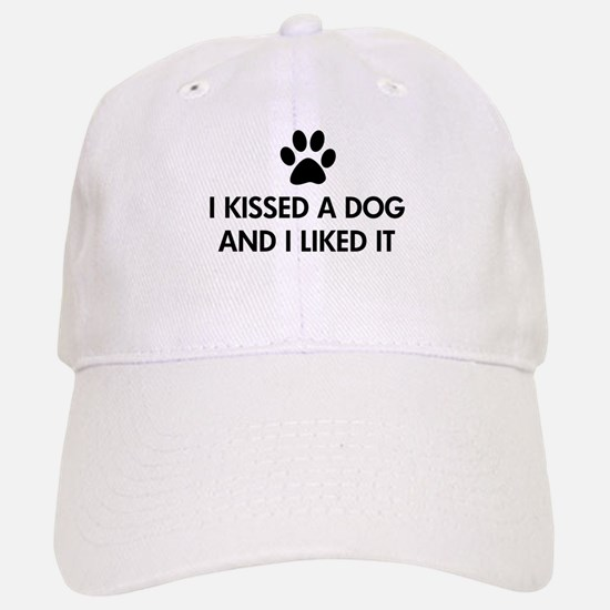 I kissed a dog and I liked it Baseball Baseball Cap
