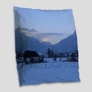vigaun salzburg Burlap Throw Pillow