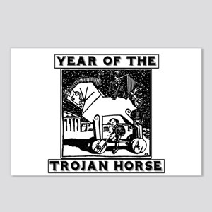 Year of the Trojan Horse Postcards (Package of 8)