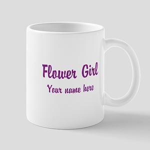 Flower Girl By Name Mug