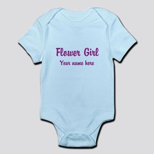 Flower Girl By Name Body Suit