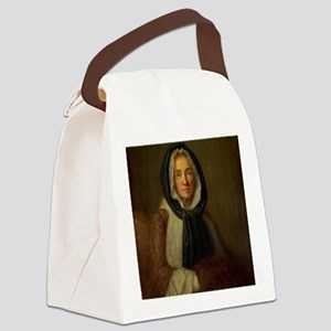Old Woman  Canvas Lunch Bag