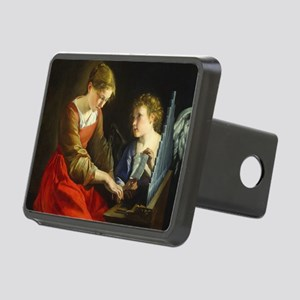 Saint Cecilia and an Angel Rectangular Hitch Cover
